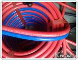 3/16′ ′ a 3/8′ ′ Riga gemellare tubo flessibile della saldatura a gas del PVC del tubo flessibile dell'acetilene dell'ossigeno della saldatura