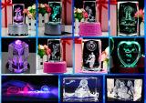 3D Crystal Laser Inner Machine van de Gravure