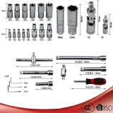 130pcs Car Repair manga de tubo ou Máquina Ferramenta de Mão