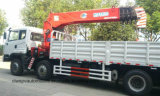 15のTのクレーン8X4マニピュレーターの貨物自動車のトラックが付いている頑丈なローディングのトラック