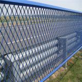 Métal augmenté standard enduit de PVC pour la barrière
