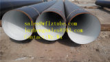 1219 * 7.75mm Tamaño API 5L Psl2 X42 X52 Tubo de acero espiral soldado, Gr. B LSAW Linepipe