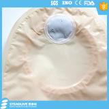 Bolso de Ostomy de dos sistemas de 70 mm con cómodo no tejido