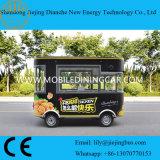 2017 Vrachtwagen van het Voedsel van de Straat van de Douane van de Hotdog van de Catering van de Levering van China de Mobiele Snelle Elektrische