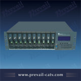 Plataforma de fibra óptica del sistema de comunicación de CATV