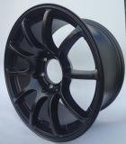 Borda de alumínio da roda da liga de 18 polegadas para carros do passageiro SUV 4X4 de Toyota Nissan Honda