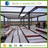 Vertiente del edificio estructural de acero y de la estructura de acero