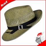 Chapéu de Palha oco Fedora Hat