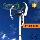 turbina di vento verticale di asse 3kw utilizzata per la casa