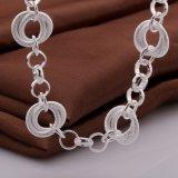 De westelijke Stijl om Vorm verbindt de Populaire Juwelen van de Halsband van de Tegenhanger Echte Zilveren Geplateerde