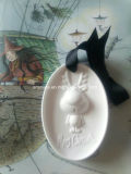 Navidad perfumado regalo de cerámica Colgando Ambientador para el coche (AM-70)