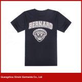 Camisas relativas à promoção personalizadas dos baixos preços T do algodão poli (R202)