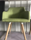 Cadeira de madeira de jantar sem braços moderna do banquete da cadeira da mobília Home