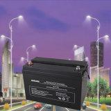 Bateria 12V100ah da potência solar de luz de rua com terminais Mc4 solares