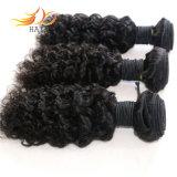 I capelli dell'arricciatura del Jerry dei capelli umani del Virgin dei Peruvian di 100% tessono