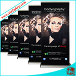 Pop up Banner / Pop out Banner / Backdrop Banner / Roll up Banner Stand