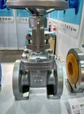A haste de aumentação do ferro de molde de JIS 10K flangeou válvula de porta da extremidade