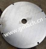 Schaber-Typ Schmelzfilter-Plattenbildschirm-Wechsler für die Plastiktabletten, die Strangpresßling-Maschine herstellen