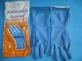 Flock Line Latex / Rubber Household Gloves
