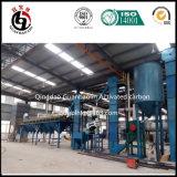 Maquinaria ativada a melhor qualidade do carbono