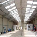 Относящий к окружающей среде светлый пакгауз стальной структуры Prefab с комнатой офиса