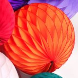 Kleines Wholesale Order Tissue Paper Honeycomb Ball für Different Events und Accasion Decoration