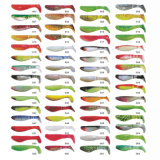 Atacado Custom T-Tail Plastic Soft Fishing Lure