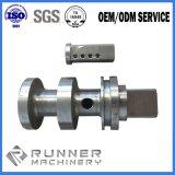 CNC вковки подвергая подвергли механической обработке OEM, котор вал механической обработке Ck45 размера стальной