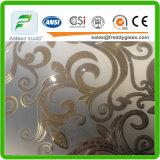 glace de souillure de 6mm/bonne glace décorative/glace décorative acide décorative acide en verre en verre/Stain6mm/souillure/bonne glace décorative