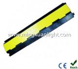 Rampa di gomma flessibile della protezione del tubo flessibile del cavo delle 2 Manica