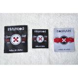 Etiqueta têxtil para roupas ao ar livre