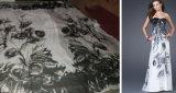 Digitale Af:drukken Uw Zijde Georgette Fabric van het Ontwerp (J0031)