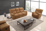 Best-Selling tejido comercial contemporáneo salón sofá reclinable 1+2+3 (HC683)