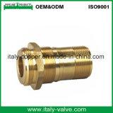 Kundenspezifischer Qualitätsbronzen-Nippel/roter Messing-Nippel (AV-QT-1014)