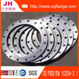Flacher Stahlschweißens-Flansch des Gesichts-DIN2576 Pn10/16 S235jr