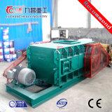 Maschinerie für den Steinfelsen-Bergbau, der Maschinen-doppelte Rollen-Zerkleinerungsmaschine zerquetscht
