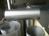 Gli schermi Drilling del pozzo d'acqua, collegare hanno spostato la fodera