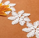 Variedade de cores e bordados Technics neve no verão de Flores rendas