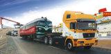 Cimc Vrachtwagen van de Aanhangwagen van de Lader voor graafmachines van de Lading van het Bed van het Merk de Lage
