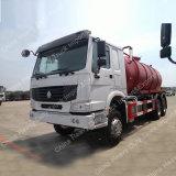 Absaugung-Abwasser-Tanker-LKW der Emission-Euro3 des Standard-15m3 Sinotruk 6X4 (ZZ1257M4647C)