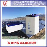 Économique et fiable Battery-Gel solaire piles (2V 3000AH)