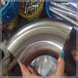 Edelstahl-Rohrfitting-warm gewalzter 45 Grad-Krümmer