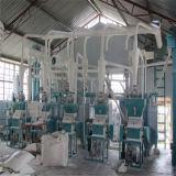 Planta corriente del molino harinero del maíz de Zambia, molinería del maíz