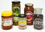 De Jampot van het glas/de Kruik van het Glas voor /Glass van de Groenten in het zuur van de Honing Fles voor Sojasaus