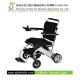 AluminiumLightweight Folding Power Wheelchair mit Lithium Battery