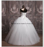 Novos vestidos de noiva sem alças Applique Wedding Ball Gowns Z2021