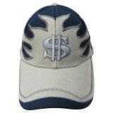 Изготовленный на заказ горячая бейсбольная кепка панели сбывания 6 с Applique Bb145