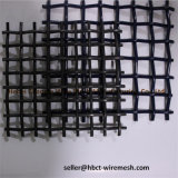 Aço de alto carbono frisada Tecidos de malha