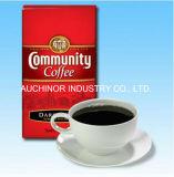 SGSは食品等級を立てる側面のGussetedホイルの錫のタイのコーヒーバッグをカスタム設計する