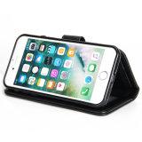 カードのホルスターとのiPhoneのための札入れの携帯電話の箱